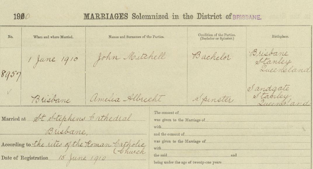 JM Marrriage certificate