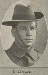 L_ Rowe one of the soldiers photographed in The Queenslander Pictorial supplement to The Queenslander 1914_