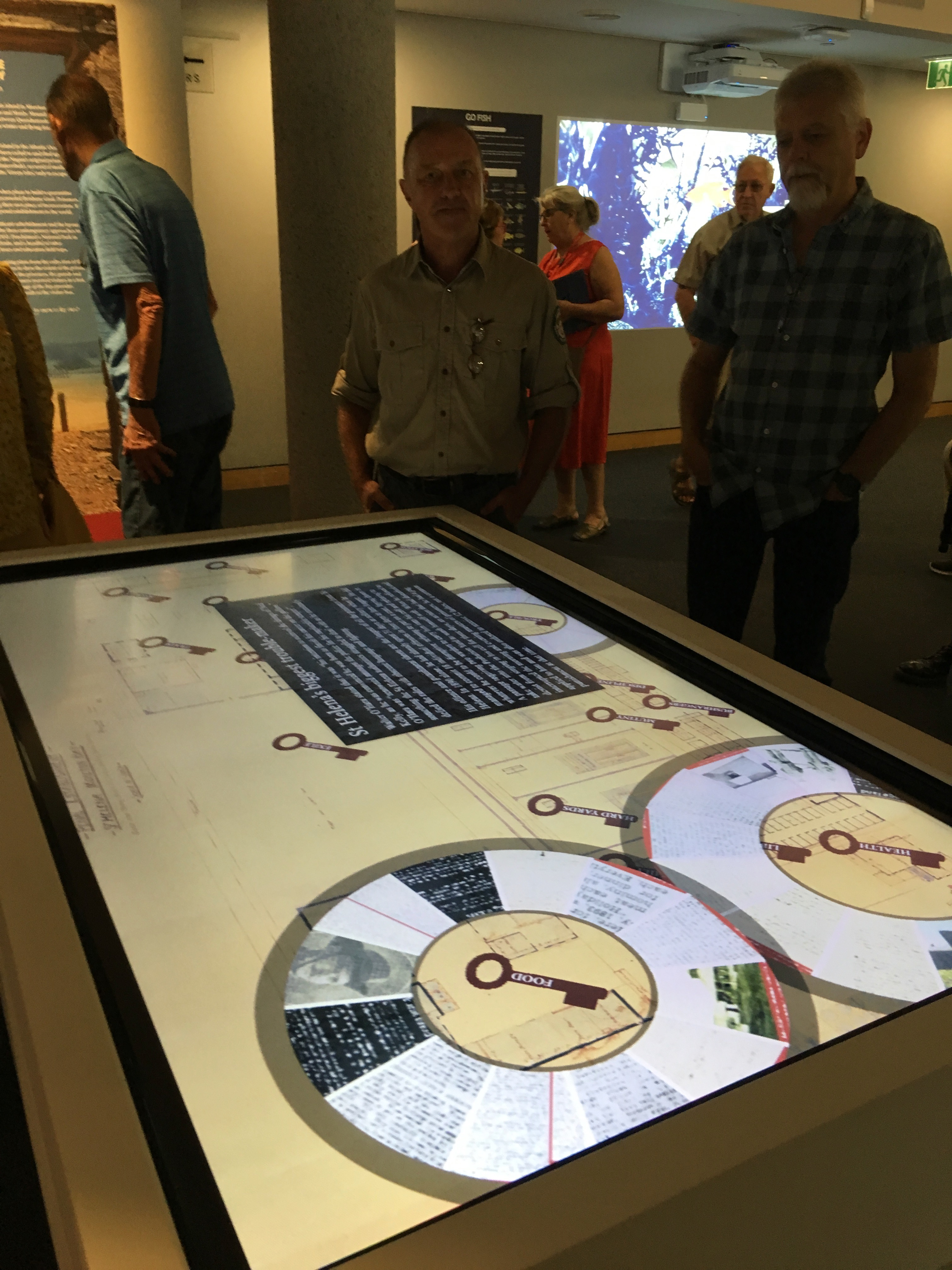 QSA lauch Digital Touch table
