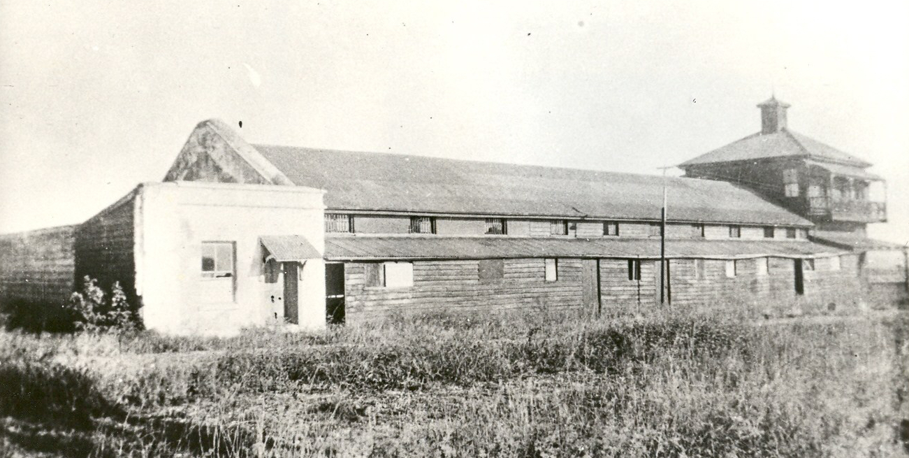 Beitz 38 1930s Stockade western row of cells JoL Neg No 60235
